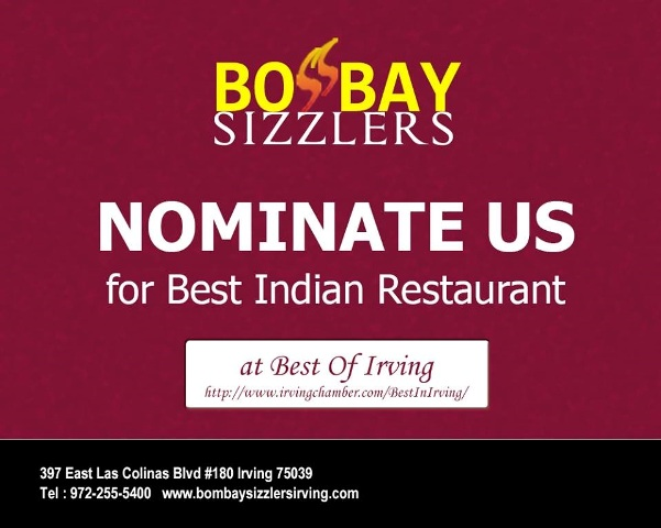 Bombay Sizzler Pub and Grill Irving TX